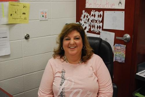 LES Teacher of the Year Kim Harrison