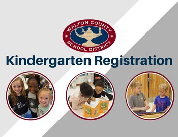 Kindergarten Registration with pictures of students