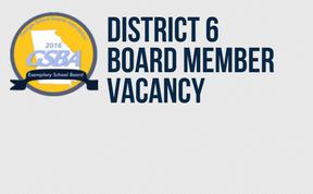 Board of Education - District 6 Vacancy