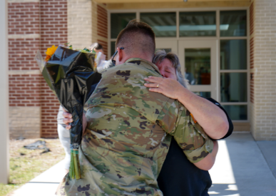 Surprise Military Homecoming
