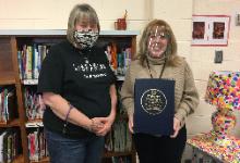 Donation from Walnut Grove Public Library