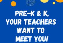 Pre-K & K Info