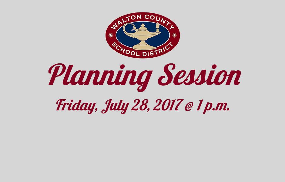 District Public Planning Session