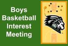 Boys Basketball Meeting