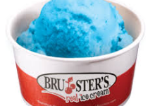Bruster's Blue Ice