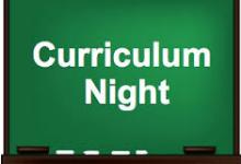Curriculum Night 2019