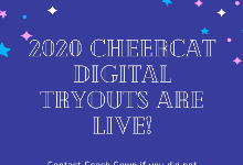 Digital Cheer Tryouts