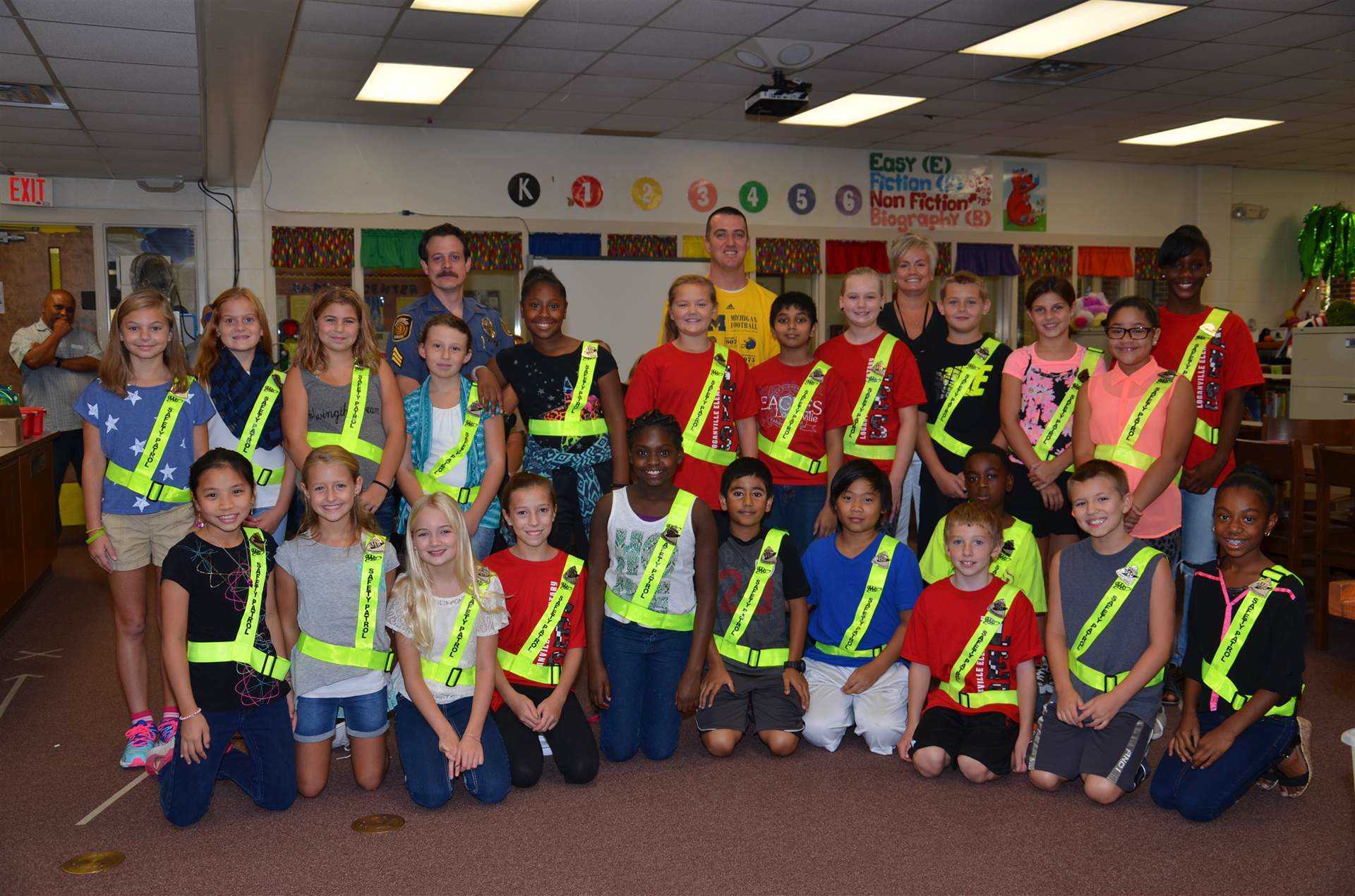 LES Safety Patrol Members