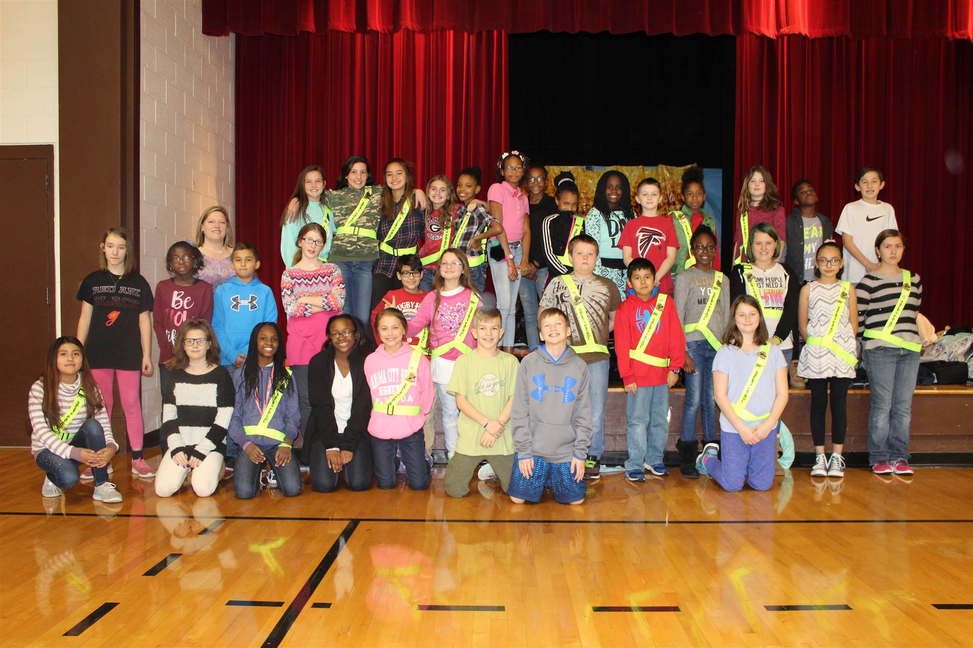 Safety Patrol Group Photo
