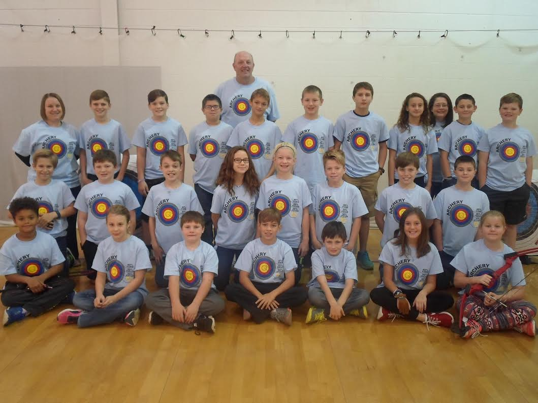 Sharon Elementary Archery Team