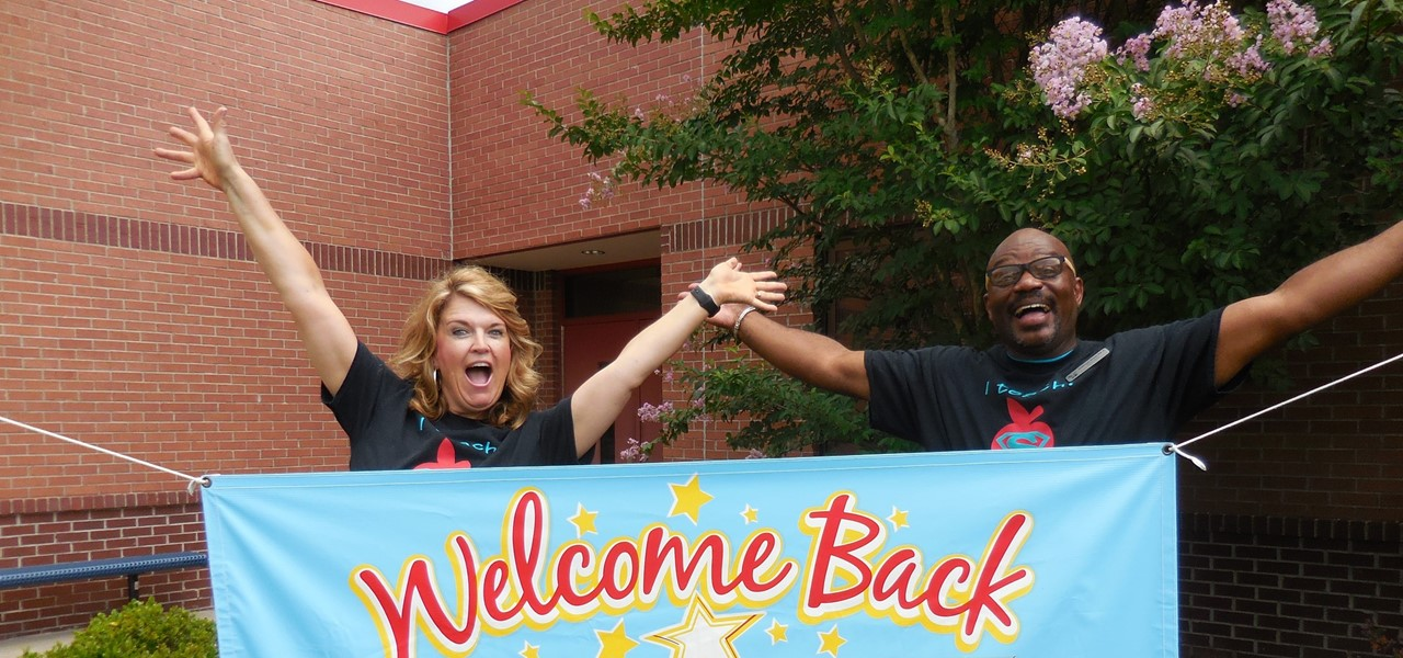 Welcome back from the assistant principal and principal.