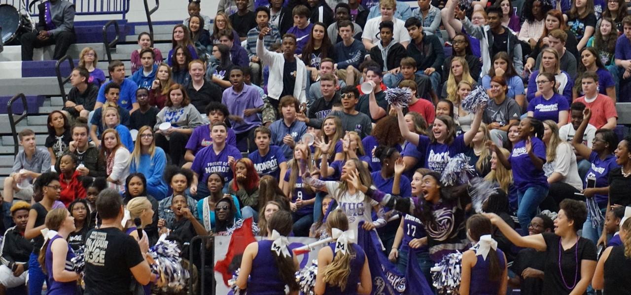 MAHS Students at Pep Rally