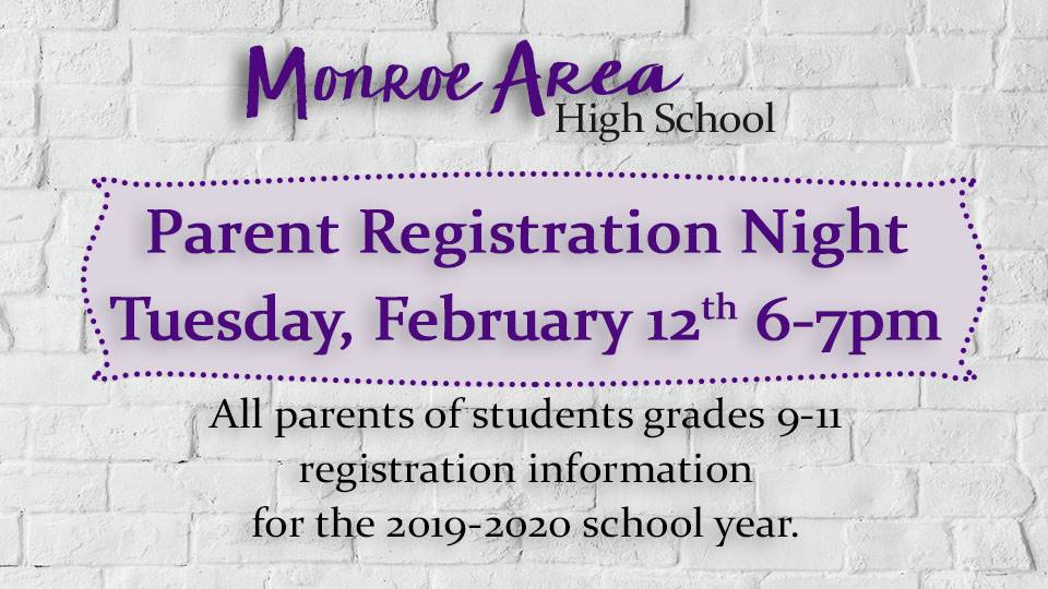 Parent Registration Night
