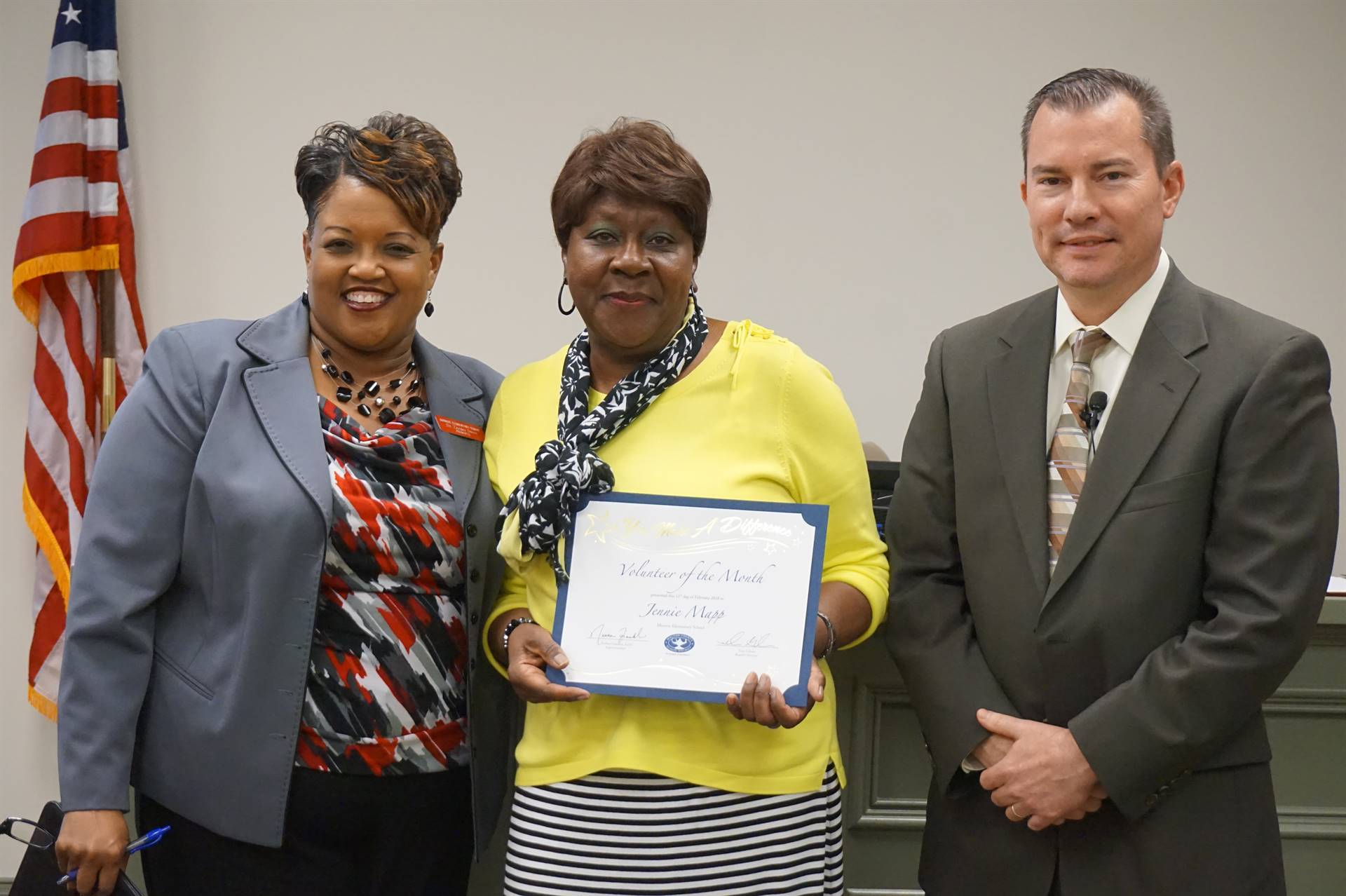 MES Volunteer of the Month