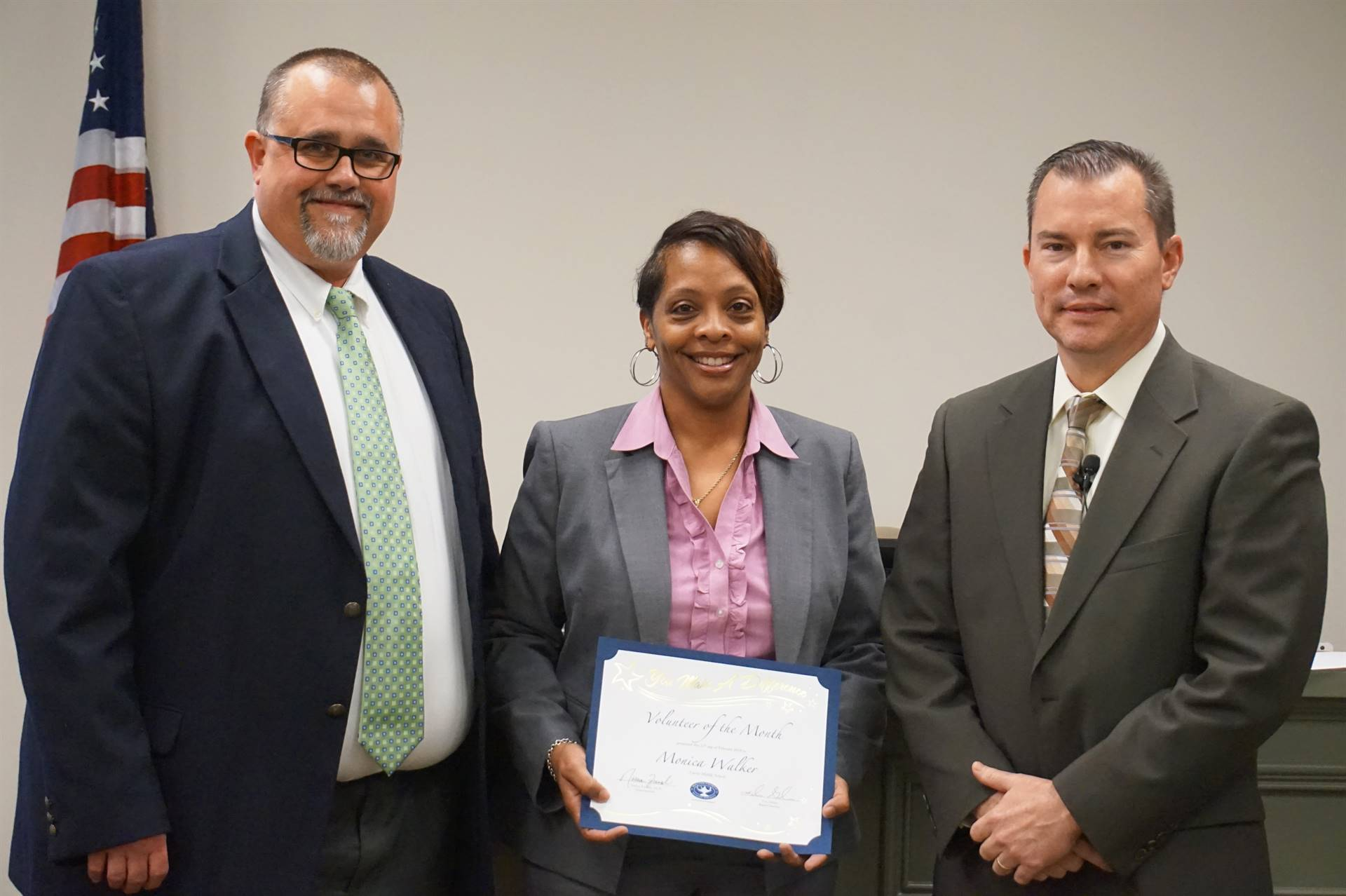 CMS Volunteer of the Month