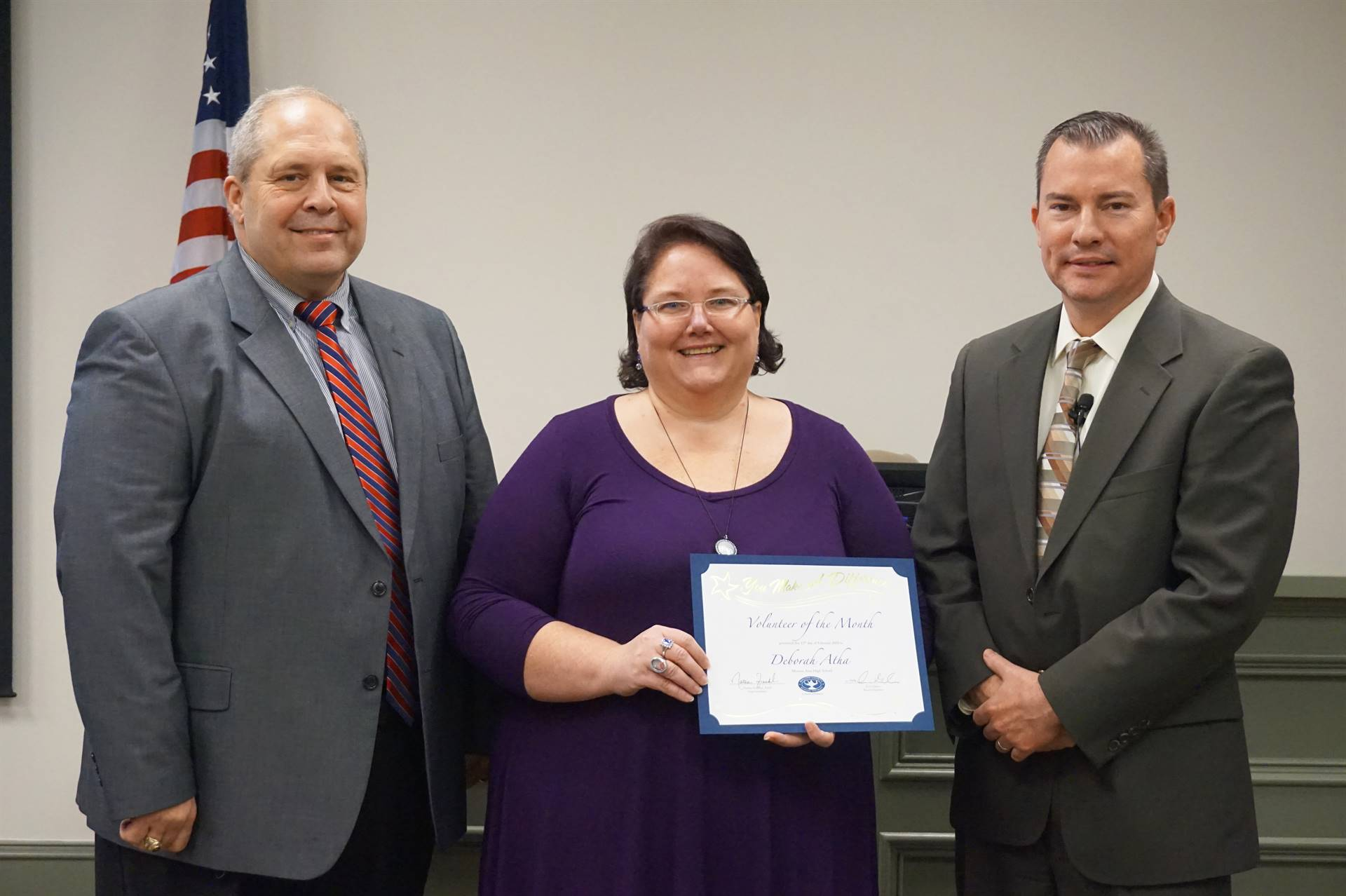 MAHS Volunteer of the Month