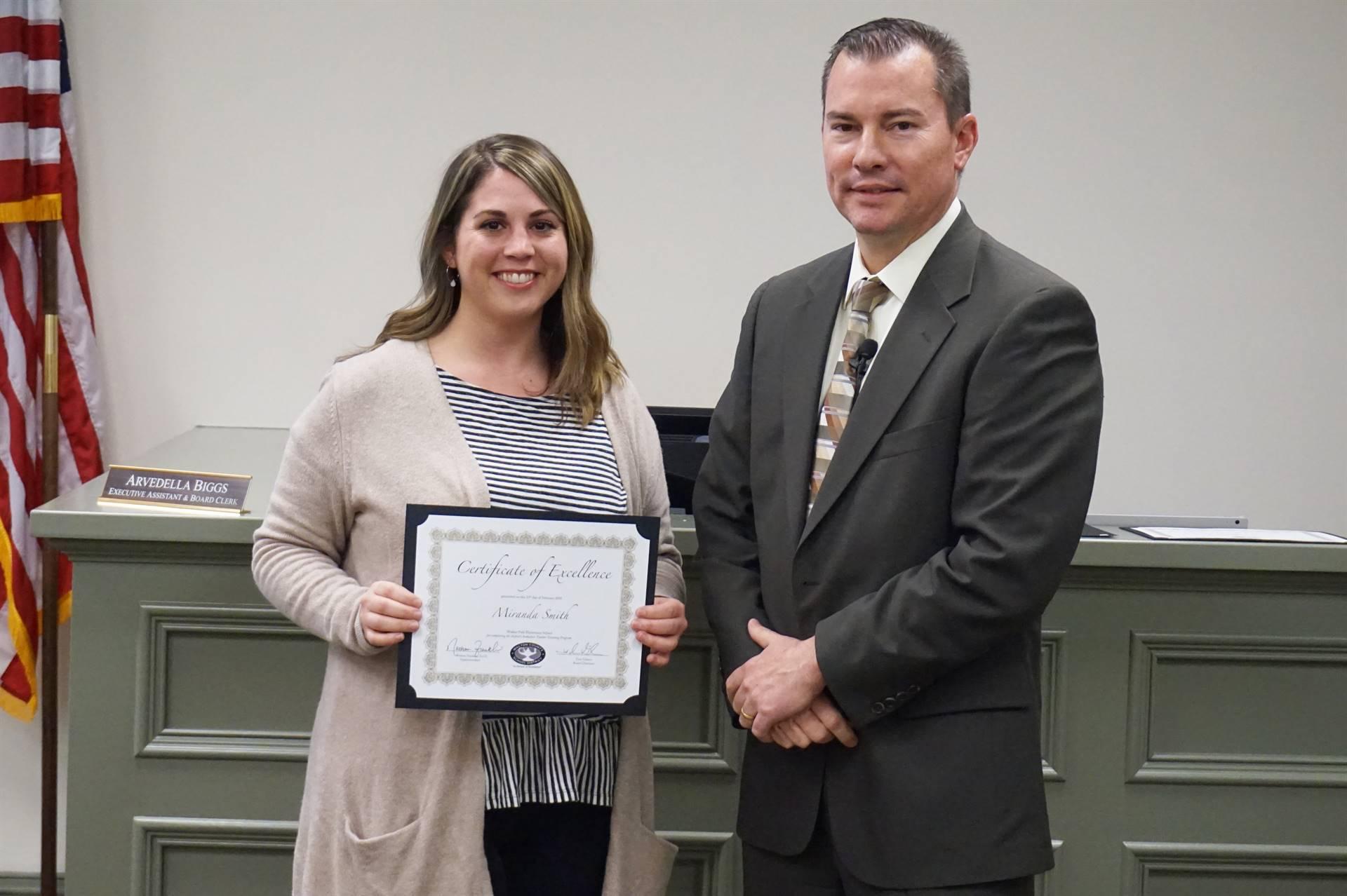 Teacher Induction Program Recognition