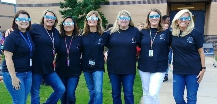 Teachers ready for the solar eclipse