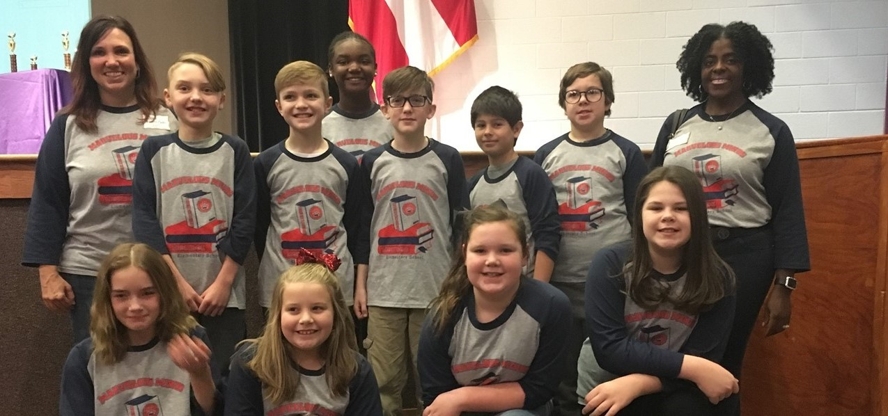 Helen Ruffin Reading Bowl Team