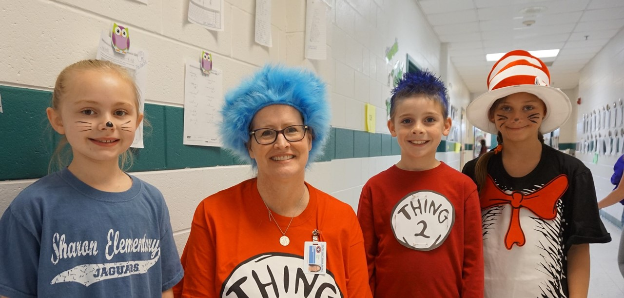 Dr. Seuss Day at SES
