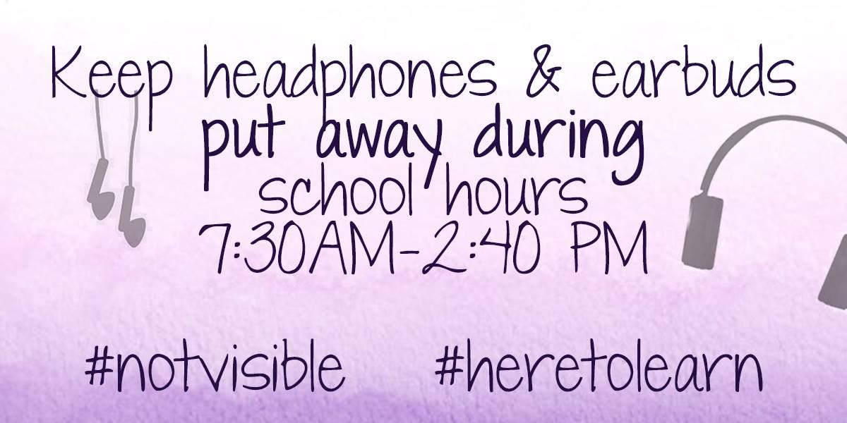 no headphones/earbuds