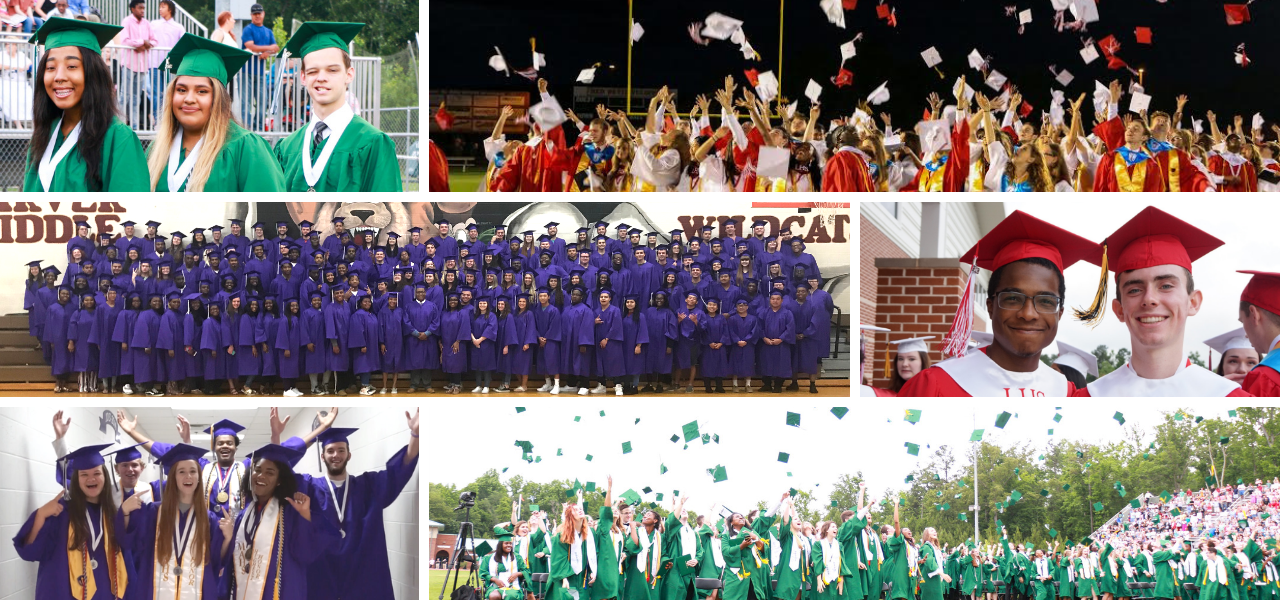Hats off to the Class of 2018! Highest graduation rate in WCSD history.