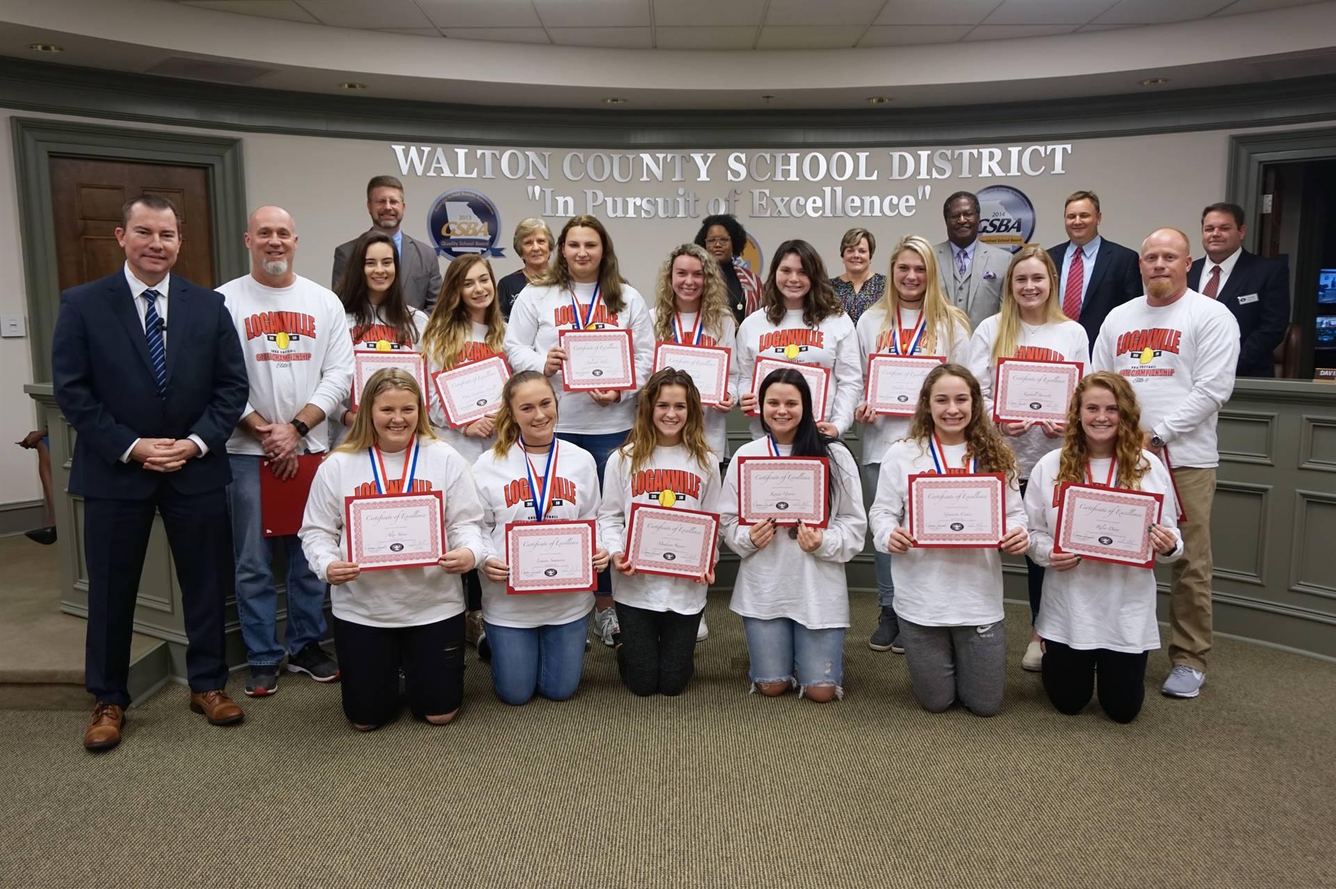 Loganville High School Softball Team
