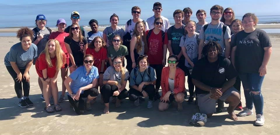 Oceanography and AP Biology Field Trip