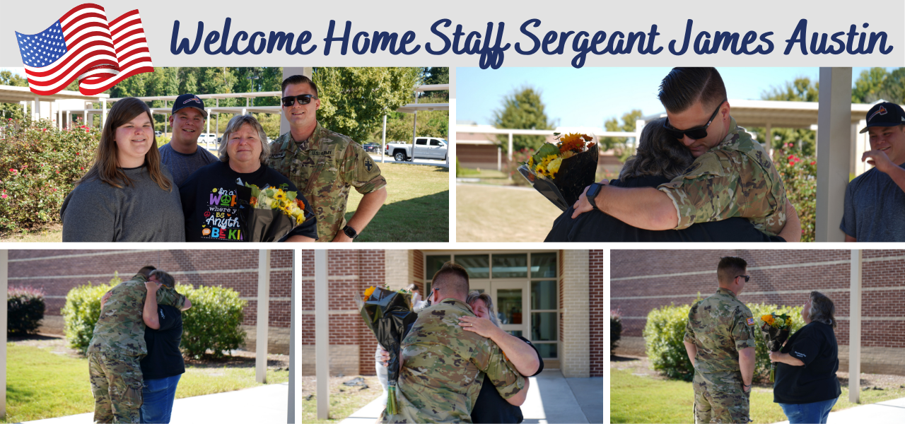 Solider Welcome Home Surprise