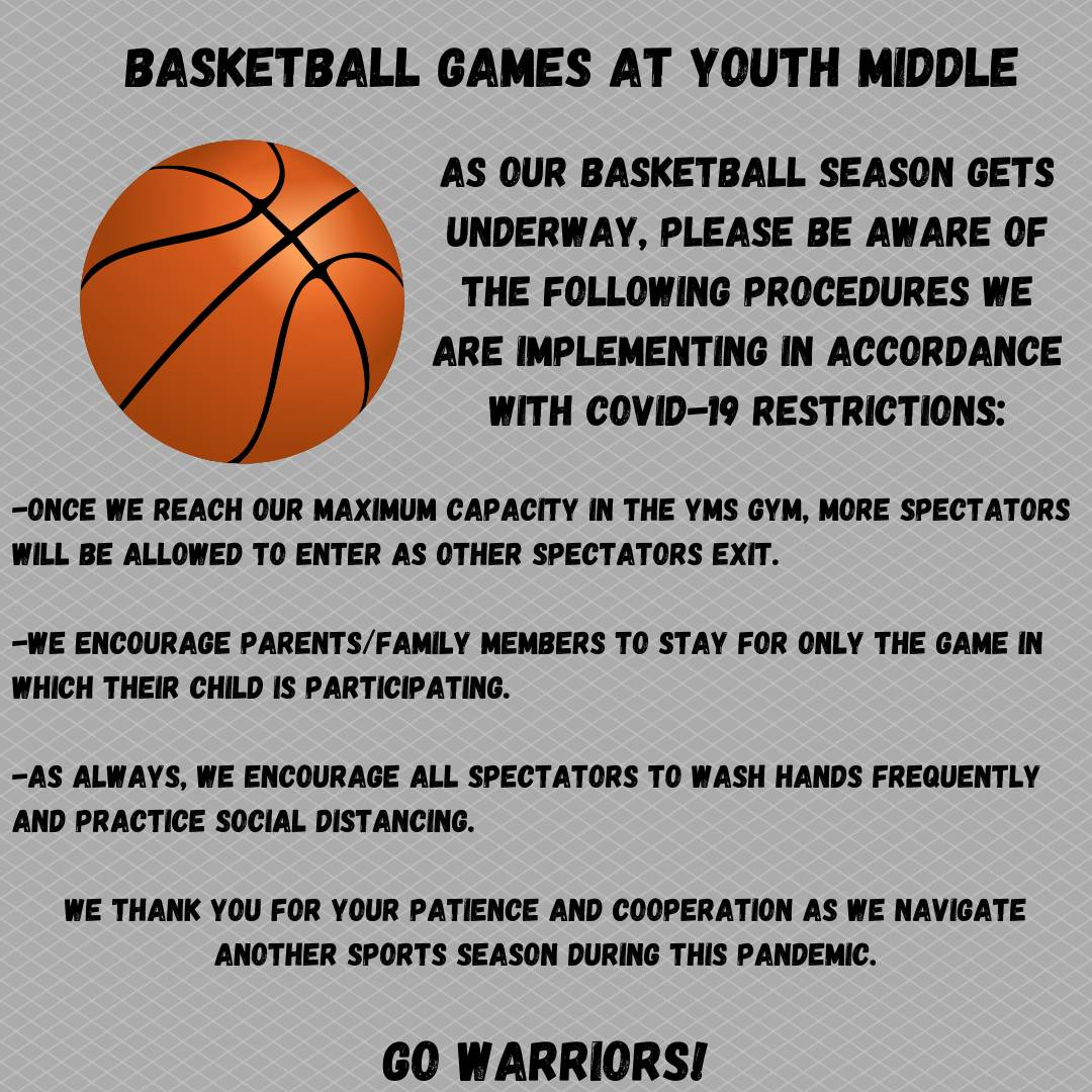 Basketball procedures at YMS
