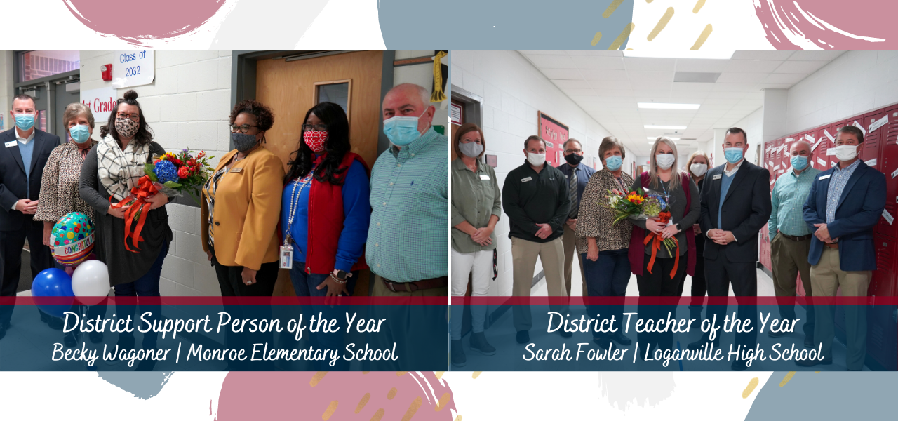 Teacher and Support Personnel of the Year