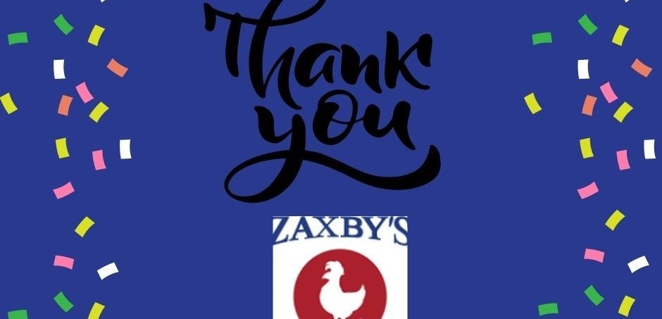 zaxby's thank you