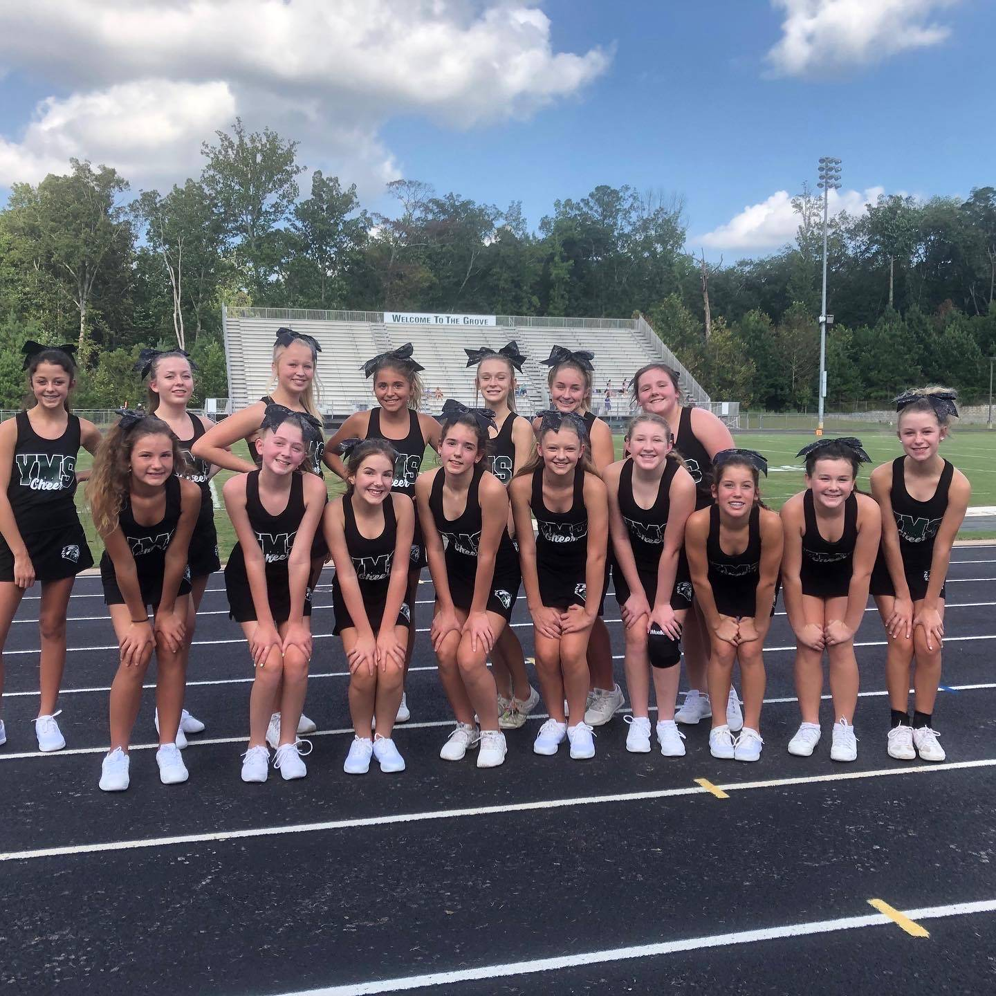 2020 Football Cheerleaders
