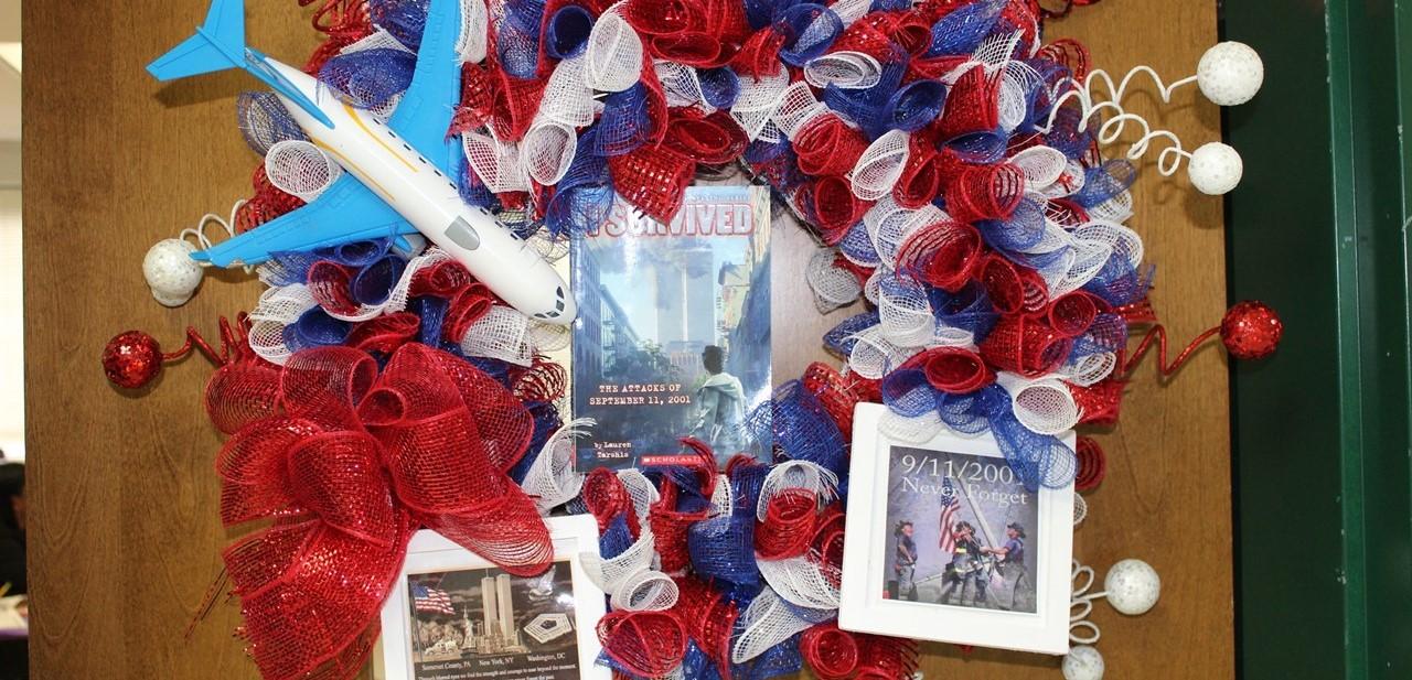 Mrs. Lockard's Book Parade Wreath