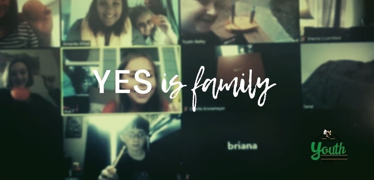 Y E S is Family picture of virtual learning
