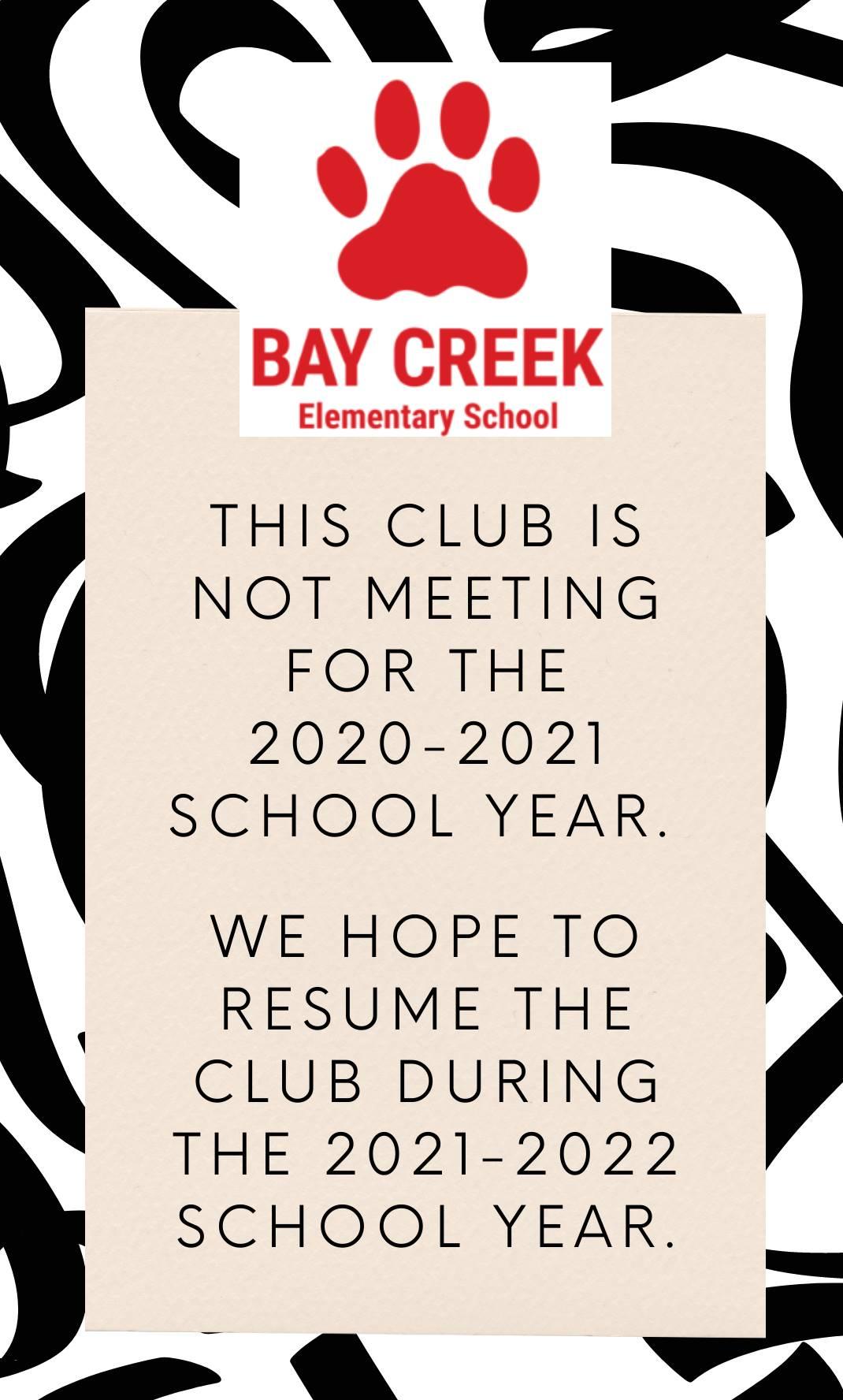Club not meeting