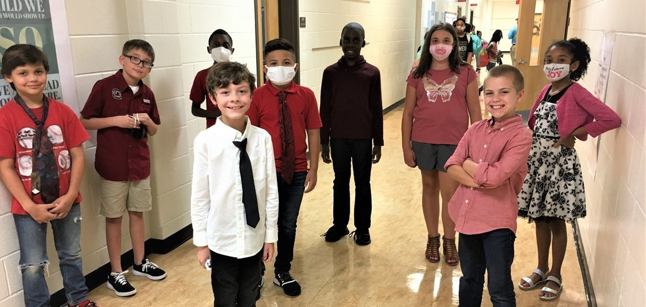 5th graders Dressing for Success