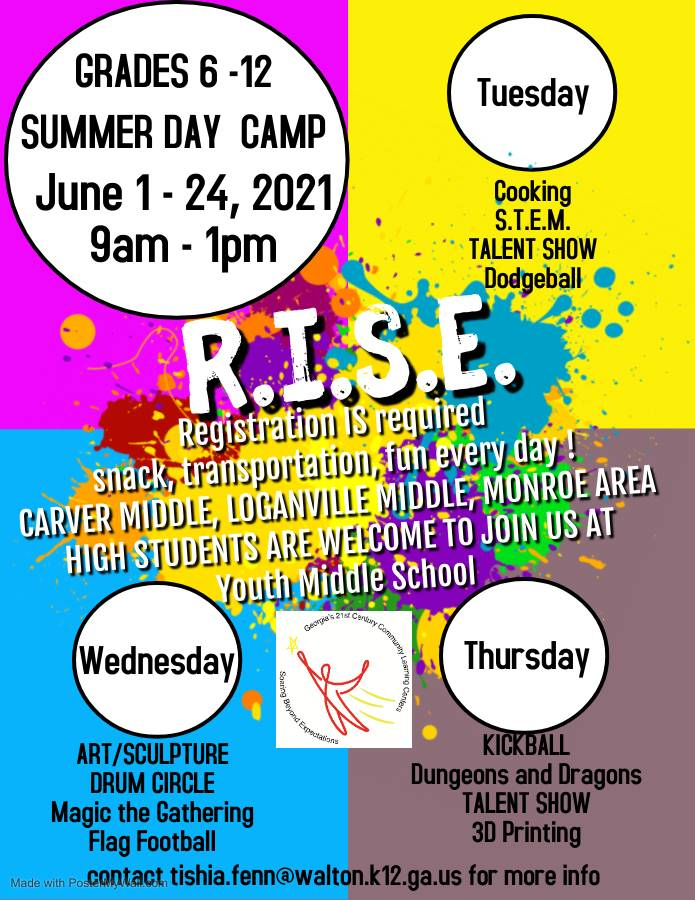 RISE Summer Day Camp