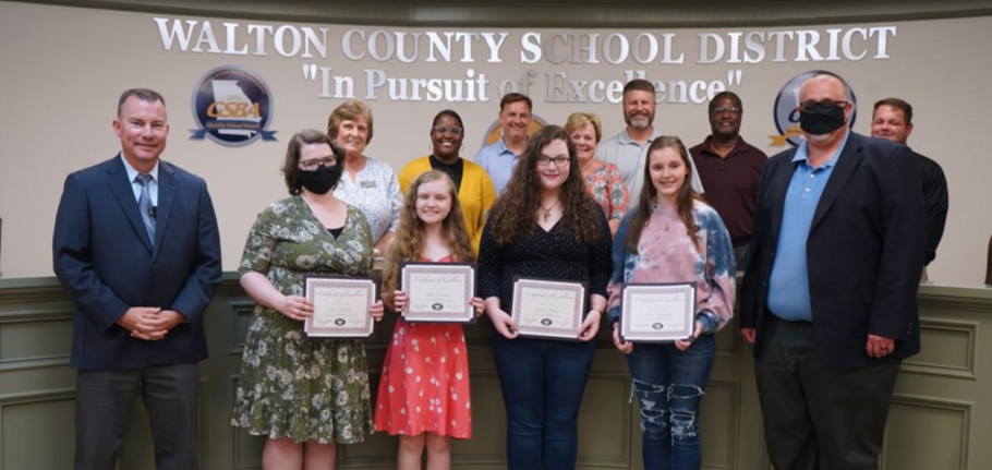 Reading Bowl Team BOE Recognition