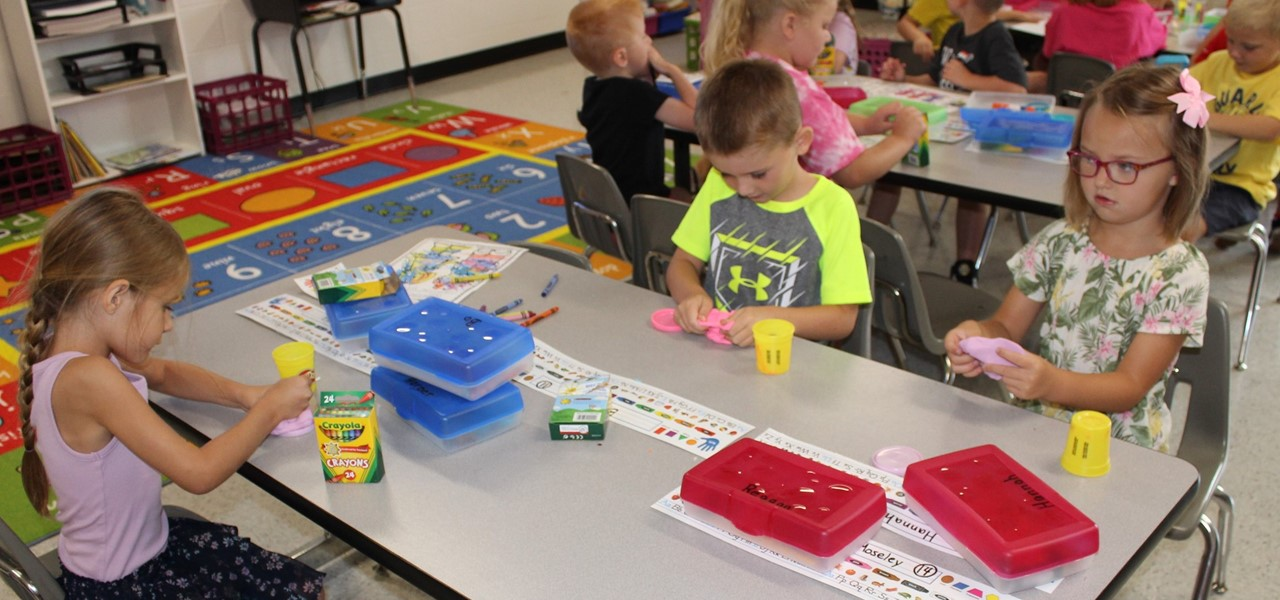 Mrs. Smith's Kindergarten class
