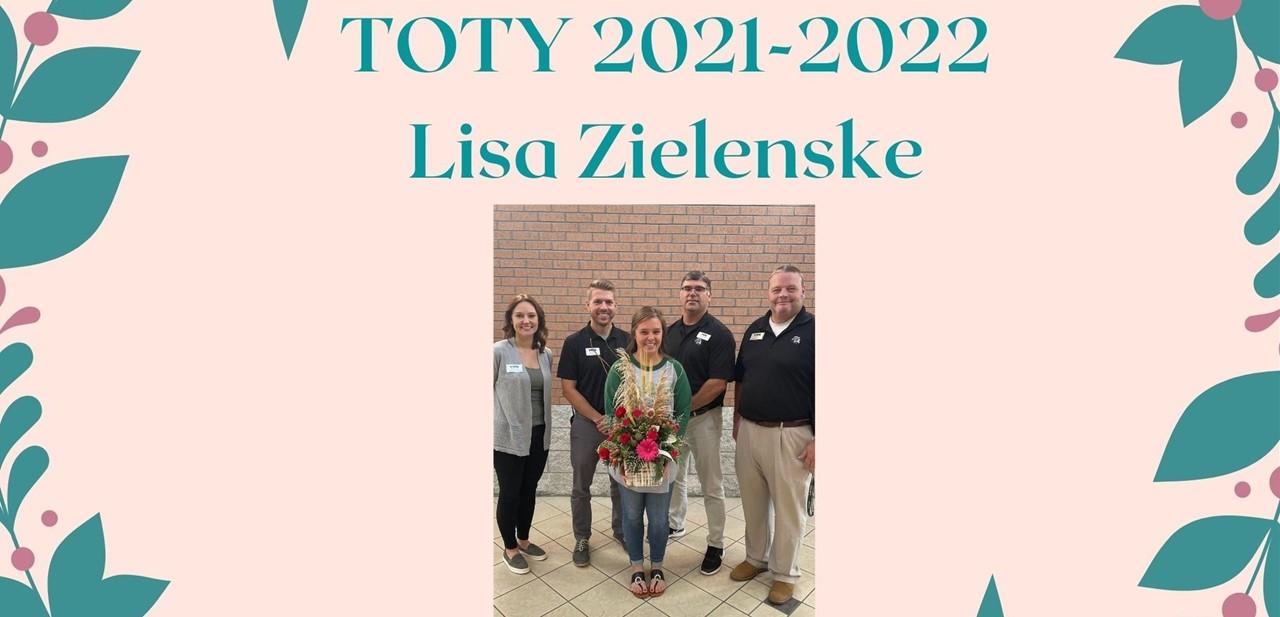 TOTY- Lisa Zielenske