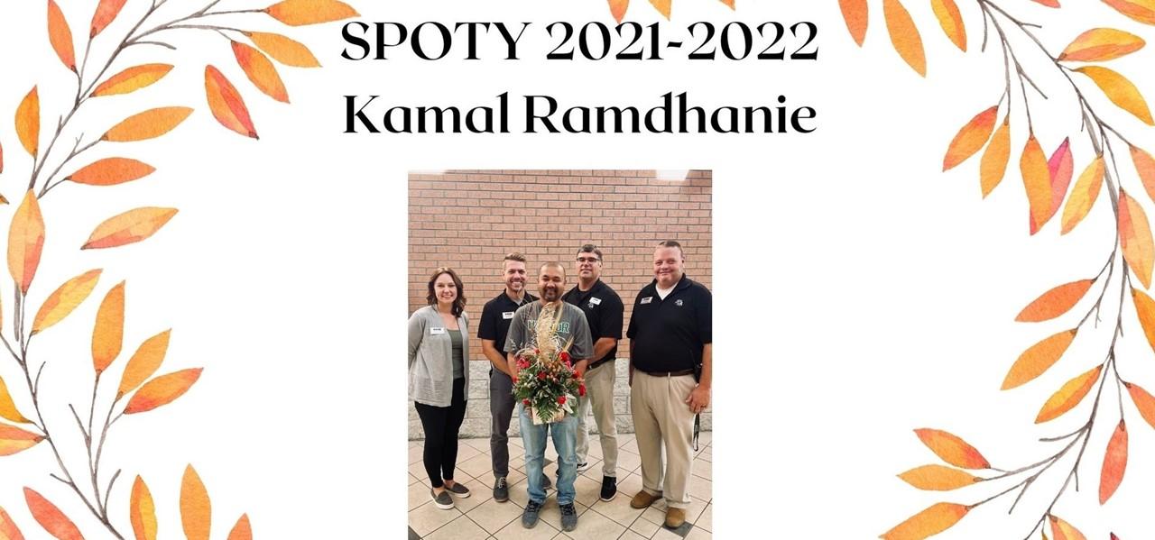 SPOTY- Kamal Ramdhanie
